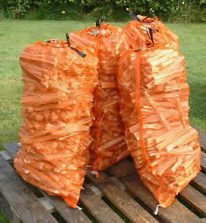 Our bulk logs can be supplied, bagged for your convenience.