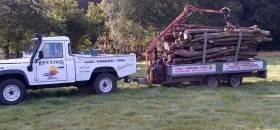 RTS Logs Delivery in Bournemouth, Poole and Dorset